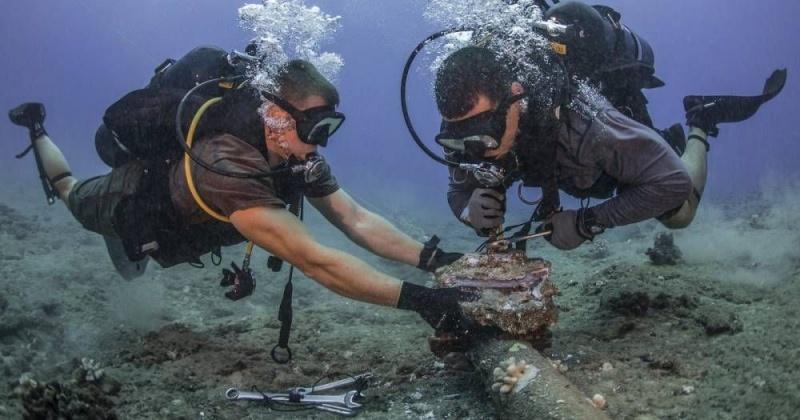 Ремонт подводного кабеля